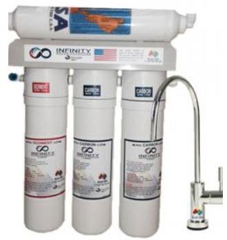 מערכת טיהור מים אינפיניטי 4 שלבים